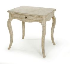 "KATE SIDE TABLE with Drawer | Dimensions 30""H x 30""W x 24""D 