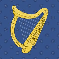 "Added my heraldic ""Irish Harp"" to items over st TeePublic: Check out this awesome 'Irish+Harp' design on harp harp Harp, Irish, Awesome, Check, Beautiful, Design, Irish People, Be Awesome, Ireland"