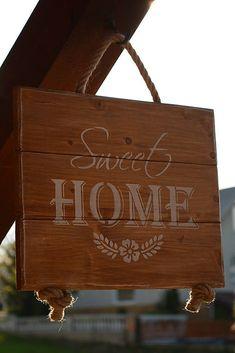 Drevená tabuľka Handmade Dolls, Jasmine, Sweet Home, Decorations, Home Decor, Decoration Home, House Beautiful, Room Decor, Dekoration