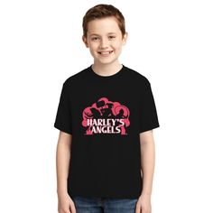 Harley's Angels Youth T-shirt