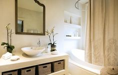 Highgate Residence  Guest Bathroom  Bath  Contemporary  Eclectic by DJDS