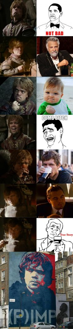 tyrion is ALL the memes!