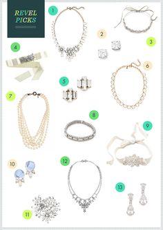 REVEL Picks: Wedding Day Accessories