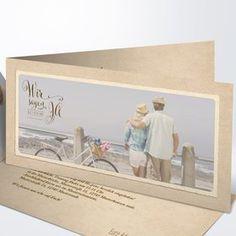 Hochzeitseinladung Romantische Post Detail