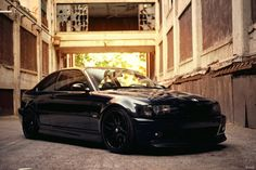 automotivated: BMW (by Evano Gucciardo) Black on Black Bmw E46 Sedan, Bmw Motorsport, Black Audi, Bmw M Power, Bavarian Motor Works, E46 M3, Nissan Patrol, Car Engine, Muscle Cars