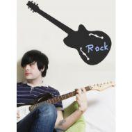 Rock Gitar Genç Odası Duvar Sticker