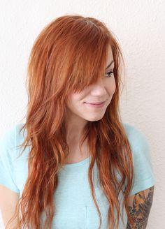 Plus, I like her bangs. /KT.  Dry Shampoo 101 - A Beautiful Mess