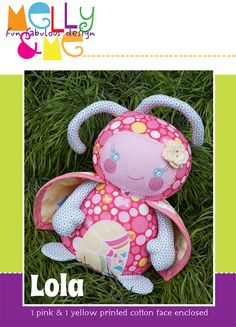 Lola Ladybug Pattern by braidcraft on Etsy