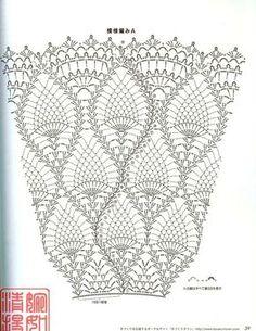 Fabulous Crochet a Little Black Crochet Dress Ideas. Georgeous Crochet a Little Black Crochet Dress Ideas. Crochet Shawl Diagram, Crochet Skirt Pattern, Crochet Skirts, Crochet Chart, Crochet Motif, Crochet Designs, Crochet Clothes, Crochet Lace, Crochet Stitches