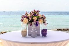 What a perfect place to have a sand ceremony #DreamsSandsCancun #Mexico #Destinationwedding