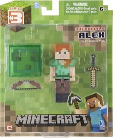 Minecraft Core Alex Action Figure with Accessory