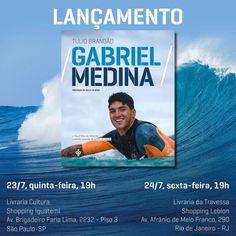 Fotografia de Alessandro Garofalo foi escolhida para fazer parte de livro de Gabriel Medina.