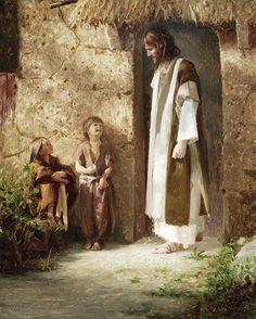 Jesucristo Verdaderos discípulos lámina por por JaredBarnesArt