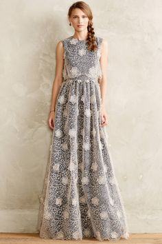 Cloudlace Gown - anthropologie.com