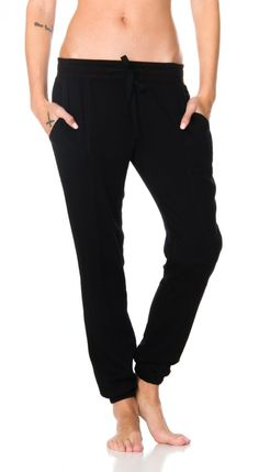 The Roundhouse Pants by RVCA are soft jogger pants for everday wear