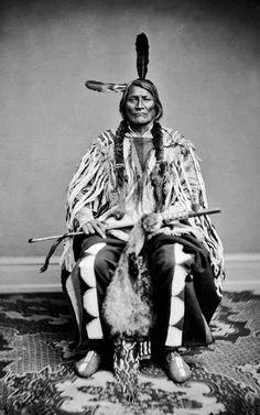 Two Kettle Chief Long Mandan - Ma-va-tan-na-ska 1867