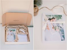 Pretty photography packaging by Carrie lee photography www.caleephotography.com