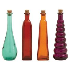 Found it at Wayfair - 4 Piece Eliza Bottle Décor Set