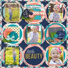 5 image digital scrapbooking layout. credits: I'm so Fancy by Traci Reed, Not all Who Wander Template by Brook Magee