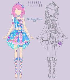Manga Clothes, Drawing Clothes, Art Drawings Sketches Simple, Kawaii Drawings, Character Poses, Character Design, Freezing Anime, Anime Stars, Anime Girl Dress