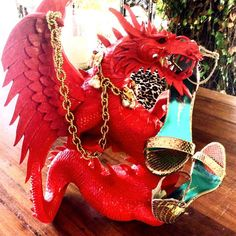 A Dragon in Drag Style ROSY available at http://beverlyfeldmanshoes.com/es/sex-is-in-the-heels/rosy-hi-gold-24.html #toomuchisnotenough #advancedstyle #exotic #red #designers #onsale #picoftheday #photoofthefay #jewels #mediterranean #la #beverlyhills #followme #fashionbloggers #gorgeous #glam #shoeart #shopping #shoefie #dragons #highheels #beverlyfeldmanshoes #hamptons #newjersey #newportbeach #ibizastyle #ibiza #moma #me #mallorca #nyc #creativity #fun #brunch