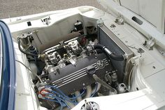 Nothing sexier in an engine bay than dual side draft carburetors.