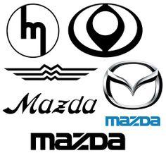 Mazda logo history