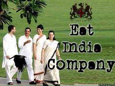 "Ek waar Bharat wich aayi si ""East India Company"" par aj Bharat desh wich ek family scams upar scams kari jaa rahi hai , Gandhi parivaar di ""Eat India Company"" #GandhiFamily #Scams #Congress #AugustaWestland"