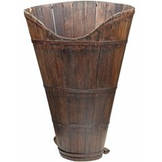 French Primitive Grape Harvest Basket. Repinned by www.mygrowingtraditions.com