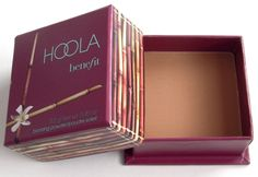 Benefit Hoola Bronzer - The perfect contouring product, no shimmer, not orange.