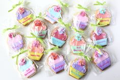 cupcake icing cookies