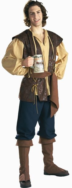 Inn Keeper Costume Adult | Renaissance Townsman Deluxe Costume