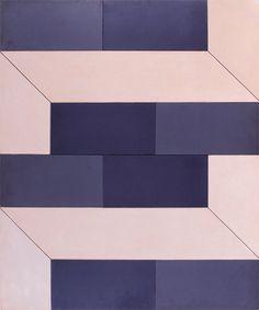 Lygia Clark Plano em superfícies moduladas nº 2 (Plane on modulated surfaces no. 2), 1956  Industrial paint on Celotex (mineral fiber), wood and Nulac (potassium lactase / sodium diacetate)  90,1 x 75,0 cm