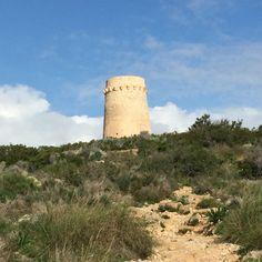 Torre.                                                    Portet de Morair Moraira, Monument Valley, Nature, Travel, Towers, Naturaleza, Viajes, Destinations, Traveling