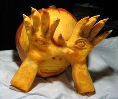The Pale Man from the 2012 this old house Pumpkin-Carving Contest Winners gallery
