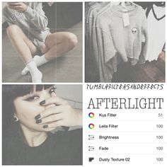 Afterlight filter *Type: grunge - dusty *Good for theming - - - - #afterlight…