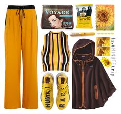 """""""Last minute trip"""" by dorinela-hamamci ❤ liked on Polyvore featuring adidas, Topshop, Elvi, Charlotte Olympia, Patagonia, polyvorecontest, polyvoreditorial and lastminutetrip"""