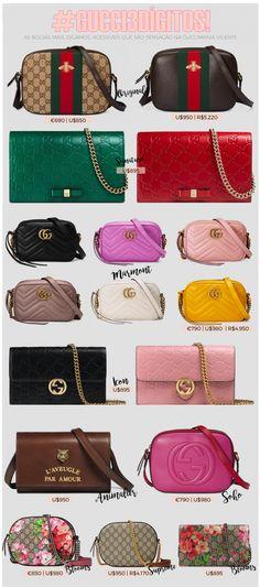 Guccimania e suas bolsas desejo da temporada  3 dígitos edition. Purses And  HandbagsGucci HandbagsLuxury HandbagsFashion HandbagsFashion BagsDesigner  ... ff440eea75cf0