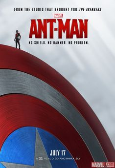 Ant-Man poster variant: Captain America