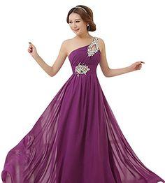 Keral Sexy Femme Demoiselle D'Honneur Robe De Bal Soirée Mariage Longue Robe Medium Violet Keral http://ebay.to/1GILXHh