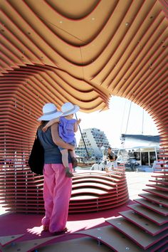 The PortHole: Anamorphic pavilion for the Living Architecture Festival by TOMA Architects   TODODESIGN by ARQ4DESIGN