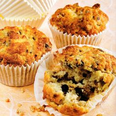 Walnut and Banana Choc Chip Muffins Recipe ** More info could be found at the image url.