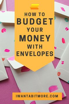 If you, like me, find it hard to stick to a budget and often overspend before the month is out, try the envelope system. It's basic, but it really works! Find out more about how envelopes can help you save money and sort out your personal finance. Ways To Save Money, Money Tips, Money Saving Tips, Money Hacks, Budgeting Finances, Budgeting Tips, Cash Envelope System, Monthly Budget, Monthly Expenses