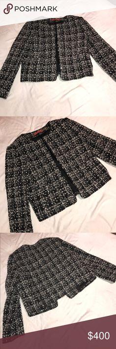 ALICE + OLIVA beaded crop jacket brand new!!! ALICE + OLIVA beaded crop jacket brand new!!! Alice + Olivia Tops