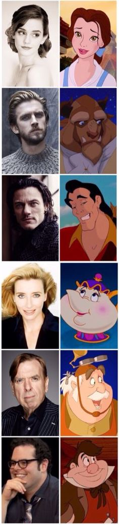 The Cast Of Beauty & The Beast. I'm So excited for The Movie To Come Out In Theatres