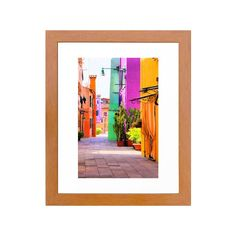 Let your wanderlust roam with this cluttered but refreshing Mexican street art print. The spaces are tight and full, but so strikingly vibrant that you feel free. You can literally drink them in and fl...  Find the Mexican Street Art Print, as seen in the The New Bohemian Collection at http://dotandbo.com/collections/the-new-bohemian?utm_source=pinterest&utm_medium=organic&db_sku=105454