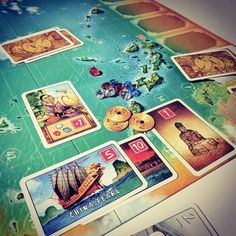 Great win after a first run through of #MadameChing I think it will need a couple of plays to really get to grips with.  #boardgames #BoardGameGeek #bargain