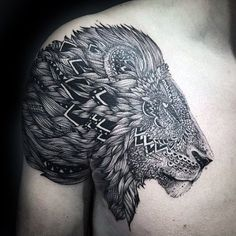 60 Remarkable Lion Tattoos For Shoulder 50 Best Lion Tattoo Designs And Ideas. 60 Remarkable Lion Tattoos For Shoulder. Maori Tattoos, Maori Tattoo Designs, Neue Tattoos, Body Art Tattoos, Tribal Tattoos, Sleeve Tattoos, Wolf Tattoo Shoulder, Shoulder Tats, Tribal Shoulder Tattoos