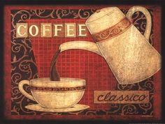 Coffee by Deb Strain art print