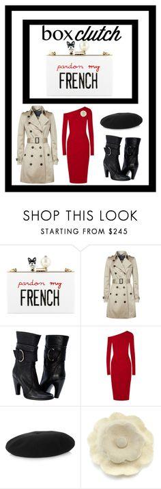 """femme fatale"" by lara-pisani-sundberg ❤ liked on Polyvore featuring moda, Cecilia Ma, Burberry, Donna Karan, Yves Saint Laurent, Chanel, BOXCLUTCH e spystuff"